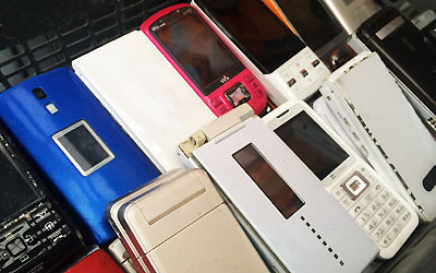 携帯電話ジャンク品買取します。