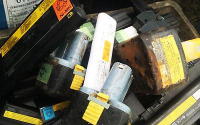 ニッケル水素、リチウムイオン電池買取